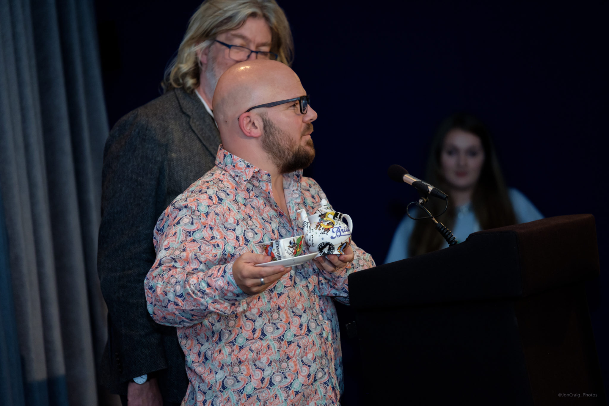 Festival Director Rich Warren at the Encounters 2017 Awards