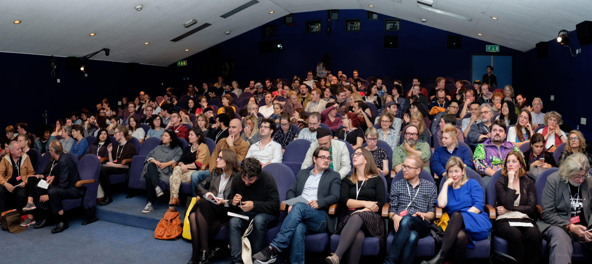 Audiences at the Encounters Award ceremony 2017