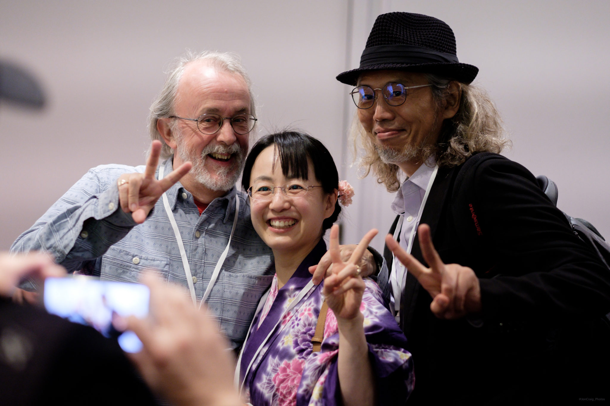 Peter Lord, Eiko Meredith, Yuichi Ito at Encounters 2017